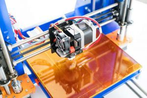 3D printer prototyping with plastic