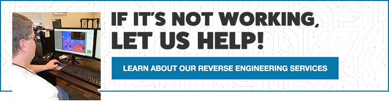 If it's not working, let us help. Learn about our Reverse Engineering Services.